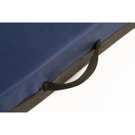 Matrace pelech modrá Oxford materiál 4XL 120x80cm 10cm vysoká
