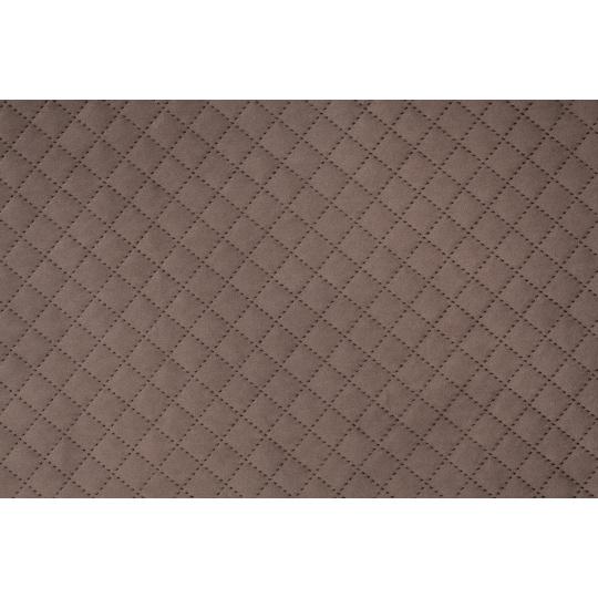 Hřejivá matrace velur popelavě černá spodní strana šedá ekokůže 4XL120x80cm 5cm vysoká