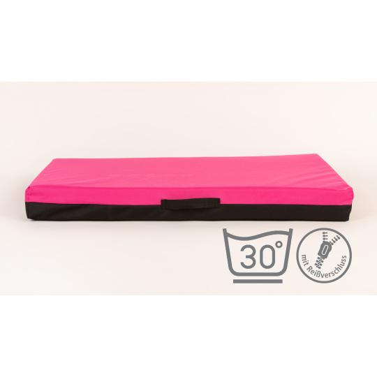 Matrace pelech růžový Oxford materiál 4XL120x80cm 10cm vysoká